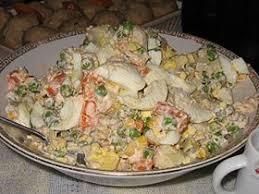 cuisine russe facile salade russe wikipédia