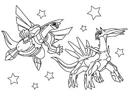 legendary pokemon coloring pages az lyss