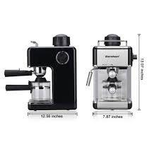 espresso maker electric 4 cup steam espresso machine cappuccino expresso latte coffee