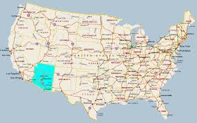 us map arizona state arizona ipl2 stately knowledge facts about the united states us