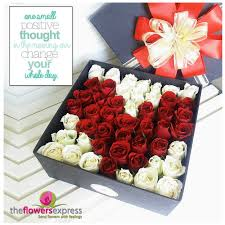 flowers in a box the flowers express philippines send flowers with feelings