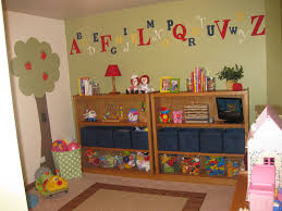 ravishing fun playroom ideas for kids with playhouse and white