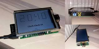 weird clock clock clock 24 on a raspberry pi using web technologies manu ninja