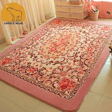 100 polyester 2016 top quality stylish cutting floral rug carpet