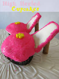high heel cupcakes your classic cupcakes with a fancy twist
