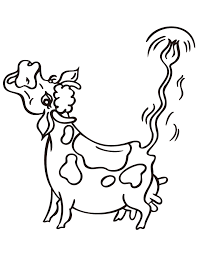 cartoon cow moo coloring page h u0026 m coloring pages