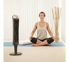 best quiet tower fan buy honeywell black quiet set tower fan with remote control null