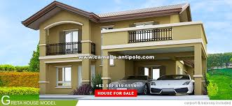 camella antipolo greta house and lot for sale in antipolo
