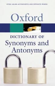 Meaning Of Antonym And Synonym Oxford Dictionary Of Synonyms And Antonyms 2nd Edition Buy