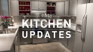 easy kitchen update ideas budget kitchen makeover from lowe s
