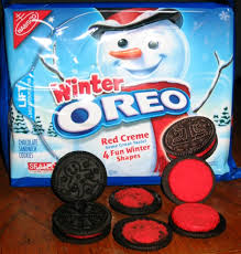 the holidaze winter oreo cookies