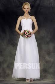 robe de mariage simple robe de mariée simple et chic empire à col américain au ras de la