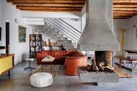 living room dazzling rooms decorating ideas using orange blue