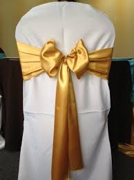 gold chair sashes chair sashes and sash holder rental chair cover ny