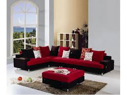 Red Sofa Sets by Red And Black L Shaped Fabric Sofa Set Buy L Shaped Fabric Sofas