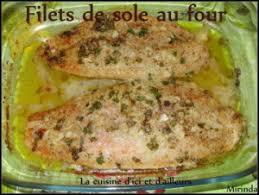 recette de cuisine au four filets de sole au four facile rapide et bon