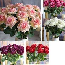 online shop big sale 1pcs valentine u0027s rose spring artificial fake