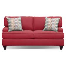 Red Loveseat The Conner Red Living Room Collection Value City Furniture