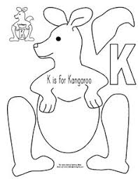 kangaroo jumps have each student jump and record letter k
