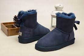 ugg womens boots bailey bow mini bailey bow boots 1005062 navy