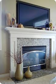 television above fireplace mantel decorating storm hunter