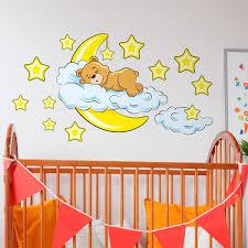 kinderzimmer wandtattoo wandtattoo für baby und wandsticker babyzimmer 0 4 jahre