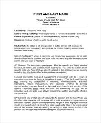 Sample Of Social Worker Resume by Work Resume Template 11 Free Word Pdf Document Downloads
