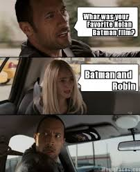 Batman Meme Creator - meme faces whar was your favorite nolan batman film batman and