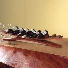 Antler Wine Rack by Arched Oak Stave Wine Rack Wine Enthusiast