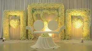 best wedding stage decoration design ideas 2017 youtube