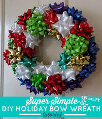 gift bow diy one savvy nyc area diy gift bow wreath