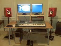 Diy Recording Desk Home Studio Desk Design Inexpensive Home Studio Desk Design