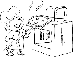 chef coloring page getcoloringpages com