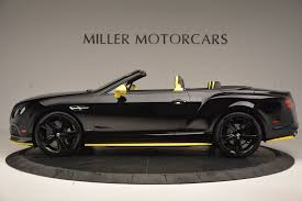bentley sports car convertible 2017 bentley continental gt speed black edition convertible stock