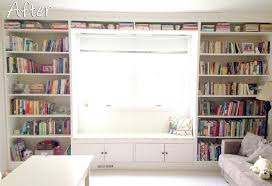 built in window seat diy built in bookshelves how to build a window seat bookcase