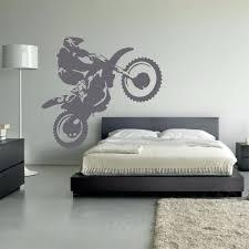 Schlafzimmer Wandtattoo Motocross Vinyl Wandtattoo Motorrad Moto Wandkunst Startseite