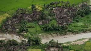 amnesty myanmar military burned rohingya villages cnn video