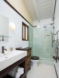 How Big Is A Powder Room Three Quarter Bathroom Hgtv
