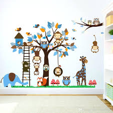 Monkey Nursery Wall Decals Monkey Wall Decals For Nursery Baby Nursery Decor Wall