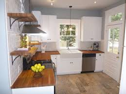country kitchen with glass panel door subway tile in richmond