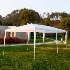 10 X 20 Shade Canopy by Outdoor Canopy Gazebo Party Tent Backyard Decorations By Bodog