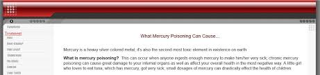 dmca protection u2013 mercury poisoning