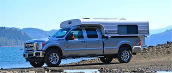 nissan titan con lance 650 camper eight foot alaskan popup camper on ford pickup truck truck