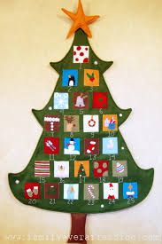 pottery barn inspired christmas tree advent calendar pottery