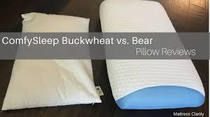 pillow reviews comfysleep vs bear youtube