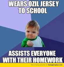 Ozil Meme - ozil assist funny pictures