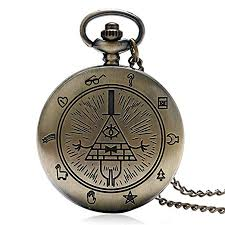 quartz necklace watch images Bill cipher pocket watch bronze quartz pocket watches jpg