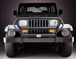 jeep cj grill logo olympic 4x4 products bumpers jeep grill guards jeep front