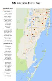 Map Of Miami Dade County by Evacuation Information U0026 Centers Palmetto Bay Fl