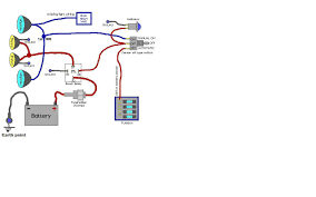 wiring diagram for defender spot lights wanted landyzone land
